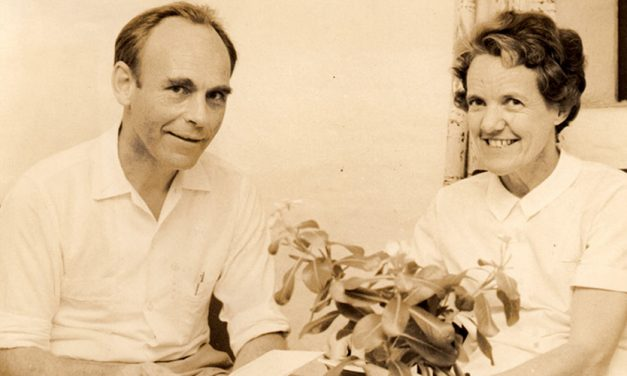 BTI FOUNDER ODD HOFTON WITH HIS WIFE